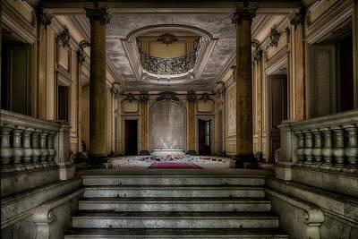 Entrance Door Photograph - Forgotten Chateau by Joachim G Pinkawa