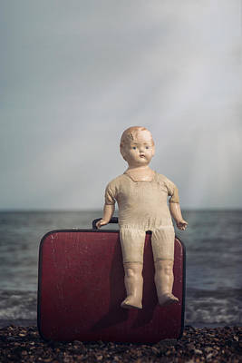 Doll Photograph - Forgotten Childhood by Joana Kruse