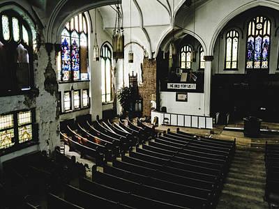 Forgotten Church Art Print by Dylan Murphy