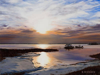 Forgotten Coast Art Print by Rick McKinney
