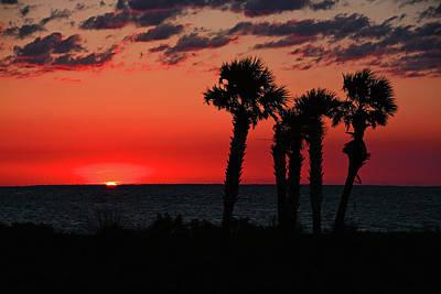 Photograph - Forgotten Coast Sunset by Ben Prepelka