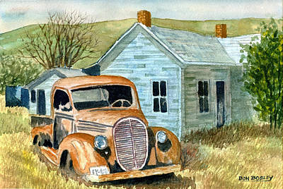 Painting - Forgotten by Don Bosley