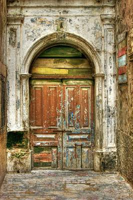 Forgotten Doorway Art Print