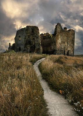 Photograph - Forgotten Estonian Castle by Jaroslaw Blaminsky
