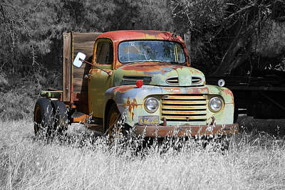 Photograph - Forgotten Ford by Richard J Cassato