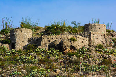 Photograph - Forgotten Fortifications by Tikvah's Hope