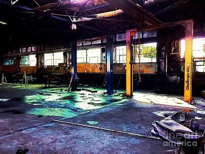 Photograph - Forgotten Garage by Jenny Revitz Soper