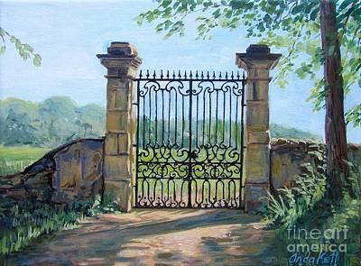 Forgotten Gate Original by Anda Kett