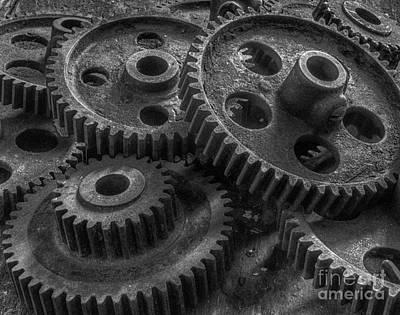 Forgotten Gears Art Print