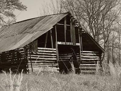 Forgotten Hay Barn Art Print