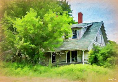 Digital Art - Forgotten Home by Ken Morris