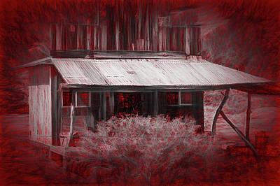 Photograph - Forgotten Homestead Cayenne by Robin Zygelman