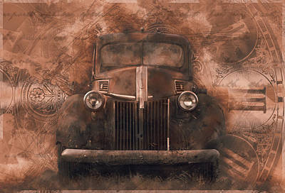 Photograph - Forgotten In Time 1941 Pickup by Ray Van Gundy