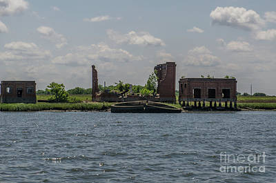 Photograph - Forgotten Industry by Dale Powell