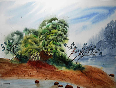Painting - Forgotten Island by Carol Crisafi