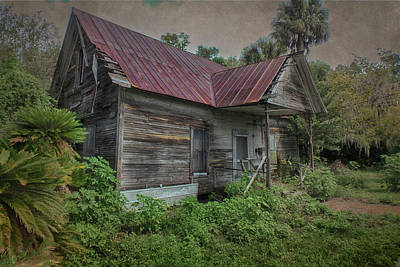 Photograph - Forgotten by Judy Hall-Folde