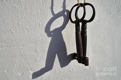 Forgotten Keys 4 Art Print