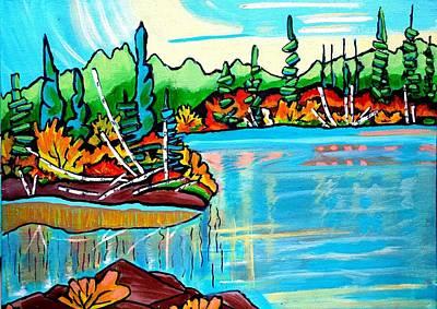Painting - Forgotten Lake by Nikki Dalton