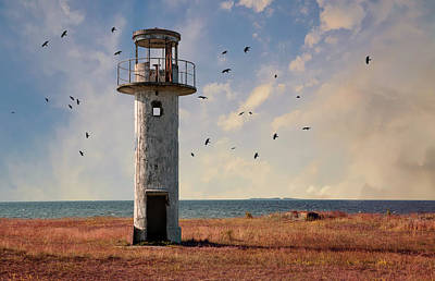 Photograph - Forgotten Lighthouse In Estonia by Jaroslaw Blaminsky