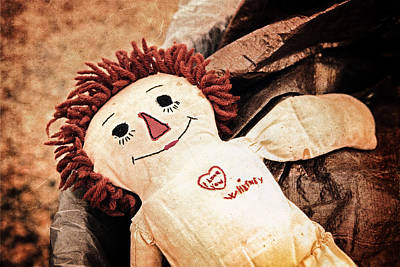Rag Doll Photograph - Forgotten Love by Caitlyn  Grasso