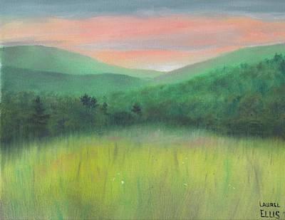 Forgotten Meadow Art Print by Laurel Ellis