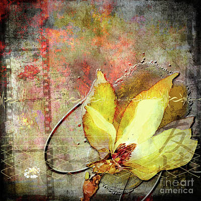 Digital Art - Forgotten Memories by Deborah Nakano