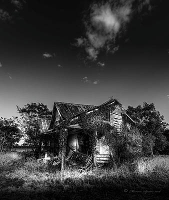 Abandoned Ranch Photograph - Forgotten Memories by Marvin Spates