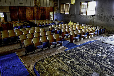 Photograph - Forgotten Oklahoma School by David Longstreath