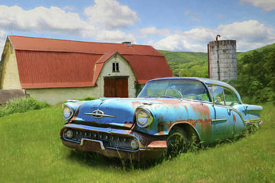 Photograph - Forgotten Olds by Lori Deiter