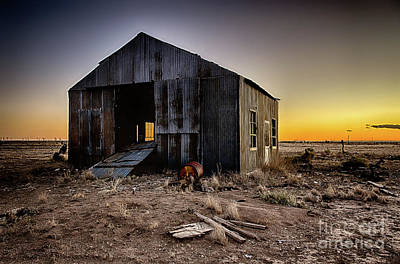 Photograph - Forgotten On Hope Highway by Dee Zunker