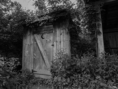 Photograph - Forgotten Outhouse by Denise McKay