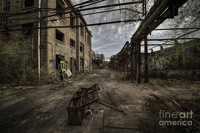 Unconventional Photograph - Forgotten Place by Svetlana Sewell