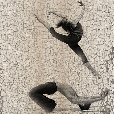 Ballet Art Photograph - Forgotten Romance 5 by Naxart Studio