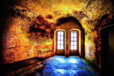 Colorful Buildings Photograph - Forgotten Room by Garry Gay