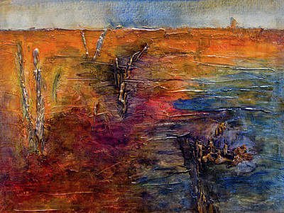 Painting - Forgotten Shore by John Stuart Webbstock