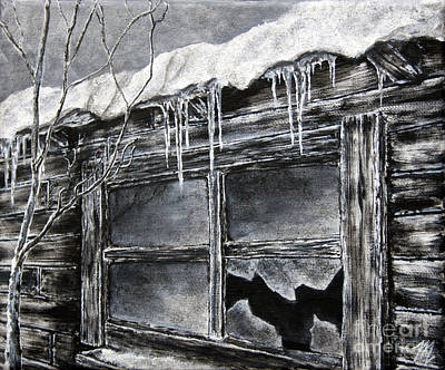 Bleak House Painting - Forgotten Window by Tim Musick