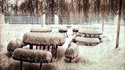 Crystalline Mixed Media - Forgotten Winter by Jason Joseph