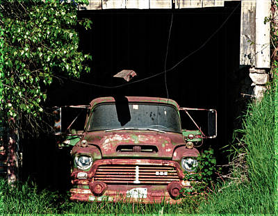 Photograph - Forgotten Work Horse by Kevin Fortier