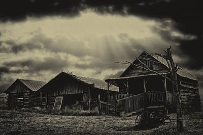 Photograph - Forgotten Years by B Wayne Mullins