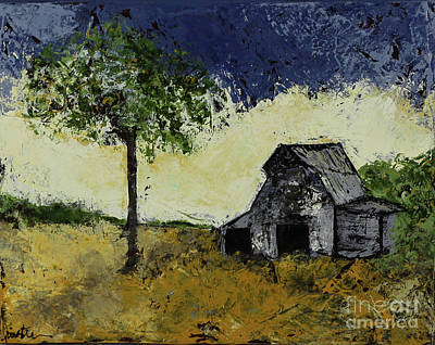 Painting - Forgotten Yesterday by Kirsten Reed