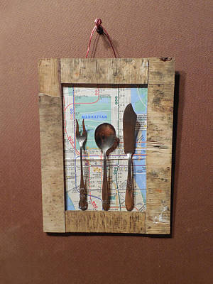 Fork Spoon Knife Original by Jim Ramirez