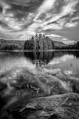 Photograph - Fork Lake by Joshua Hakin