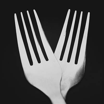 Photograph - Forked Over by Desmond Manny