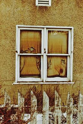 Photograph - Forlorn Window by Brian Sereda