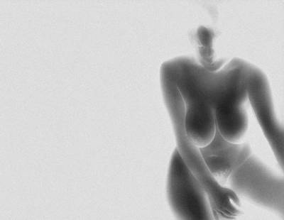 Digital Art - Form In Negative  by James Barnes