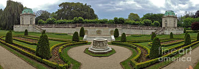 Antique Maps - Formal Garden - panoramic by Jason Freedman