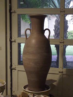 Ceramic Art - Formal Vase/urn by Stephen Hawks