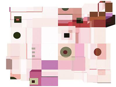 Digital Art - Formality 20 by Lynda Lehmann
