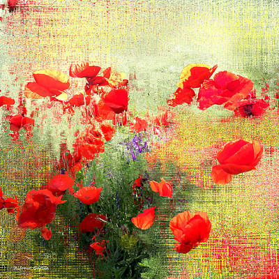 Art Print featuring the photograph Formas Y Flores by Alfonso Garcia