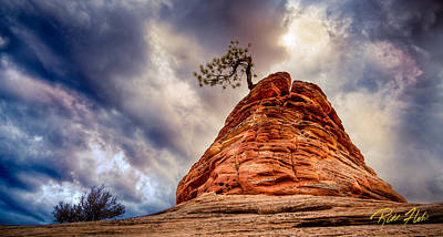 Photograph - Formation At Zion by Rikk Flohr